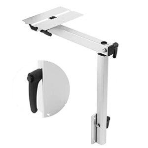 MQSS Pied de Table Camping Car Interieur télescopique pour VR Amovible Rotatif à 360 ° Support Table réglable Alliage d'aluminium pour VR, Yachts, Camping-Cars, Caravane