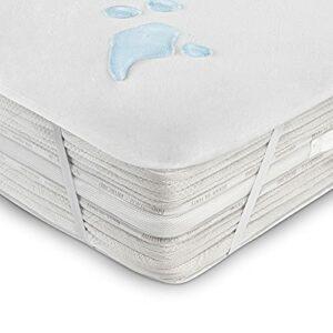 Protege Matelas 160×200 cm Alese Impermeable pour Protection de Lit en Coton Couverture Souple Respirant Anti-Acarien Hypoallergénique Antibactérien et Lavable en Machine avec 4 Coins Élastiques
