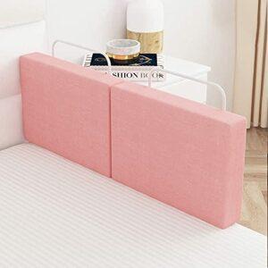 YGXR Barandilla de cama de seguridad de Buena calidad 50/60 cm, barandilla de cama de altura Ajustable anticolisión, (tamaño: 50 cm, Color: Rosa)