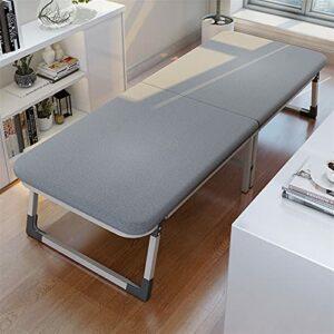 YHshop Lit Pliant Cadre de lit Pliant Portable avec lit d'invendeur épais for Matelas for Bureau de Chambre à Coucher Lit Pliant Robuste (Color : 185x70x36cm)