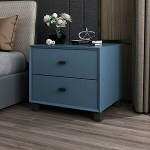 YY Nordic Simple Table de chevet Armoire de rangement Moderne Home Solide Wood Smet Small Chambre Organisateur 2 DrawesR (Color : 4)